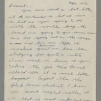 1942-08-24 Lloyd Davis to Laura Davis Page 1