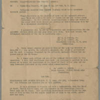 W.H.H. Morris, Jr. to Commanding General, XX Corps Page 1
