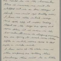 1943-01-09 Lloyd Davis to Laura Davis Page 1