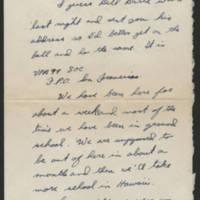 1945-06-14 Bob Sutten to Dave Elder Page 1