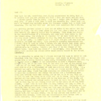 Nile Kinnick correspondence, January-May 1942