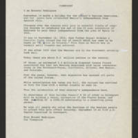 "1973-09-16 Ernesto Rodriguez transcript for """"Viewpoint"""""
