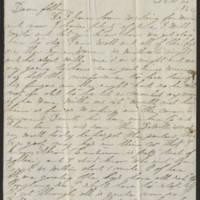 1862-12-25 Charles A. Gates to Mr. Arad Gates Page 1