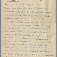 1942-12-14 Lloyd Davis to Laura Davis Page 1