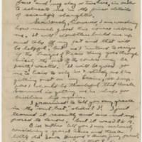 1919-03-11 Robert M. Browning to Dr. Mabel C. Williams Page 2