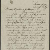 1918-06-23 Thomas Messenger to Mr. & Mrs. N.H. Messenger Page 1