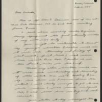1945-02-11 Allen P. Atkinson to Dear Friends Page 1
