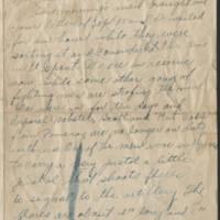 1918-12-03 Harvey Wertz to Mrs. L.A. Wertz Page 1
