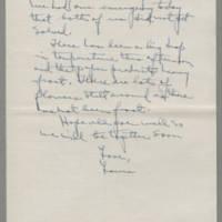 1941-10-23 Laura Davis to Lloyd Davis Page 2