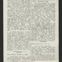 "1968-11-09 Newsletter: """"LULAC Glances"""" Page 1"