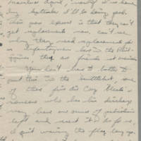 1946-01-08 Pfc. Robert J. Nicola to Dave Elder Page 2