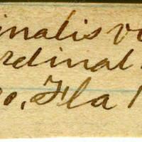 Clinton Mellen Jones, egg card # 661