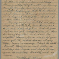 1918-06-26 Oliver P. Newman to Conger Reynolds Page 2