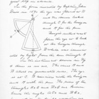 Eccentricity of the Sextant by Frederic Furbish, 1893, Page 28