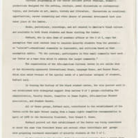 1970-04-10 Memo: University of Iowa Reports on Black Center Page 2