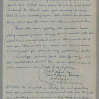 1945-04-29 Pfc. S.J. Hernandez to Dave Elder Page 1