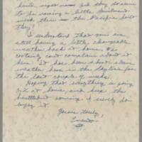 1945-03-18 Lt. Everett K. Burham to Dave Elder Page 2