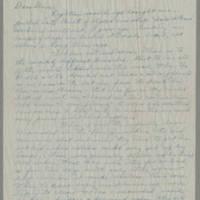 1945-07-23 Maj. Al E. Baldridge to Dave Elder Page 1