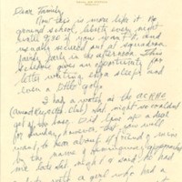 Nile Kinnick correspondence, June-August 1942