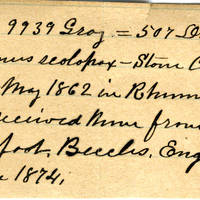 Clinton Mellen Jones, egg card # 552