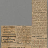 """1916-07-30 Des Moines Capital Clipping: """"""""Battlefield of Marne Is Being Restored As Place to Live But Graves There Number Thousands"""""""" by, Conger Reynolds Page 2"""