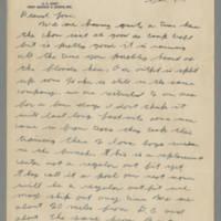 1942-10-17 Lloyd Davis to Laura Davis Page 1