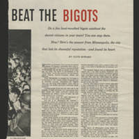 "Women's Home Companion Article: ""How Minneapolis Beat The Bigots"" Page 3"