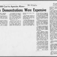 "1971-05-20 Iowa City Press-Citizen Article: """"The Demonstrations Were Expensive"""""
