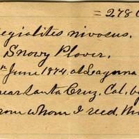 Clinton Mellen Jones, egg card # 557