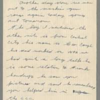 1942-08-26 Lloyd Davis to Laura Davis Page 1