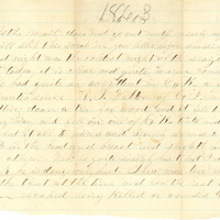 Andrew F. Davis papers, January-October 1863