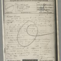 1946-04-08 Lt. W.W. Brown to Dave Elder