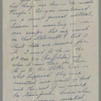 1945-12-22 Pfc. Richard A. Knupp to Dave Elder Page 1