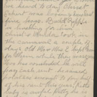 1897-10-18 Letter from Millie Huff Page 6