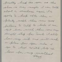 1943-01-06 Lloyd Davis to Laura Davis Page 2