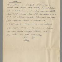 1942-11-06 Lloyd Davis to Laura Davis Page 2