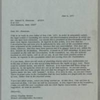 1971-06-04 Miss Virginia Harper to Mr. Hubert R. Hoosman