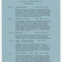 1975-03-19 Film Schedule