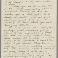 1942-06-18 Letter Freda Crippen to Laura Frances Davis Page 1