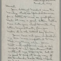 1944-03-20 Laura Davis to Lloyd Davis Page 1