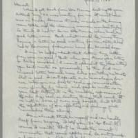 1945-06-17 Laura Davis to Lloyd Davis Page 1