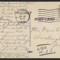 1944-08-17 Postcard - back