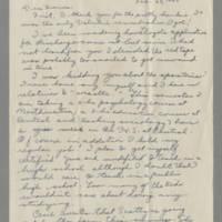 1943-02-28 Susie Hutchison to Laura Frances Davis Page 1