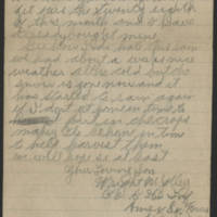 Wright Jolley to Mrs. S.R. Jolley Page 2