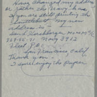 1945-09-16 Dan L. Hershberger to Dave Elder Page 1