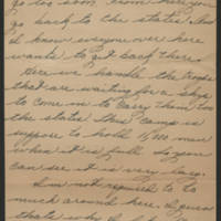 1945-09-10 Pfc. Eddie Prebyl to Dave Elder Page 2