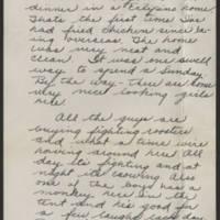 1945-02-25 Cpl. Darwin Vacha to Dave Elder Page 2