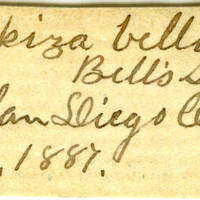 Clinton Mellen Jones, egg card # 678