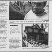 "1993-03-16 Iowa City Press-Citizen Article: ""Afro House marks 25 years of offering home away from home"" Page 2"
