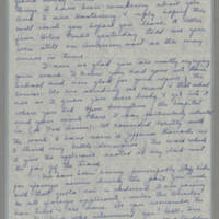 1944-01-16 Fran to Helen Fox Page 1